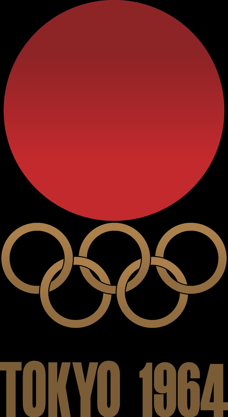 Olympic rings logo rio 2016 olympics logo designed by fred gelli - Logo Of The 1964 Olympic Games Tokyo Japan