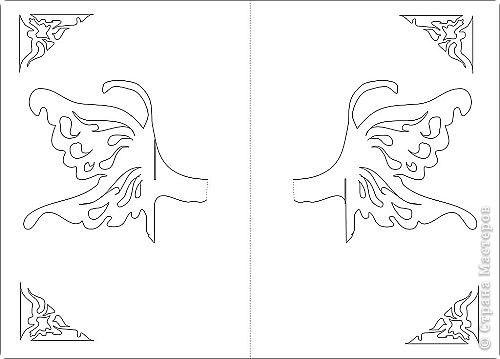 Объемные открытки схемы и шаблоны