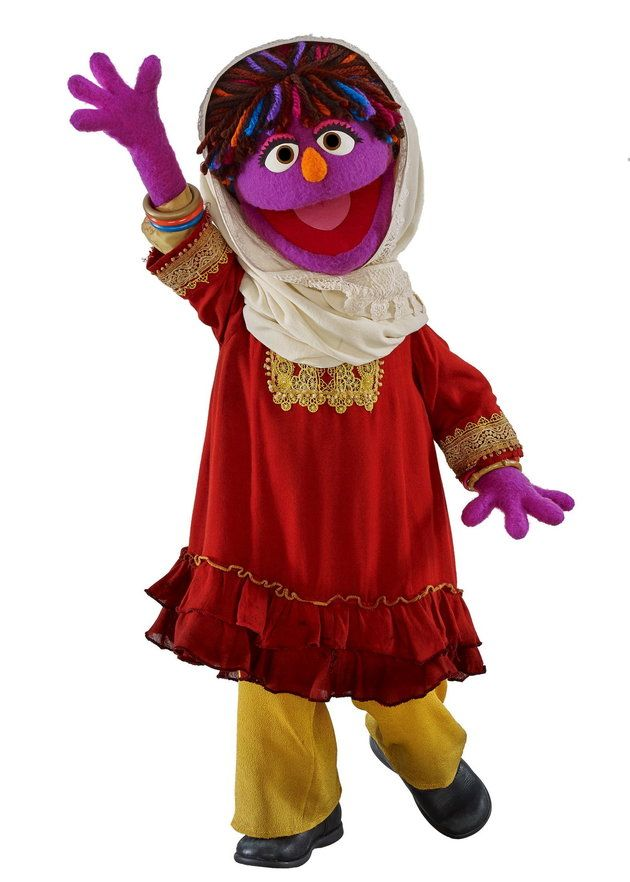 New Sesame Street Muppet In Afghanistan Promotes Girls' Rights