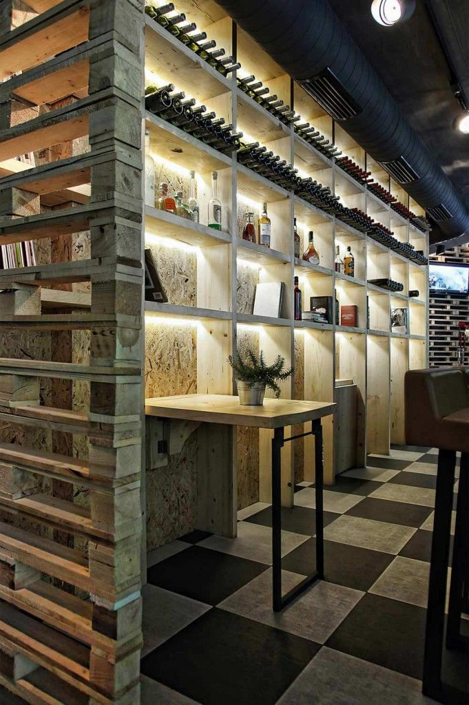 Pallet Furniture Interior Design ~ Best images about perforations screens on pinterest