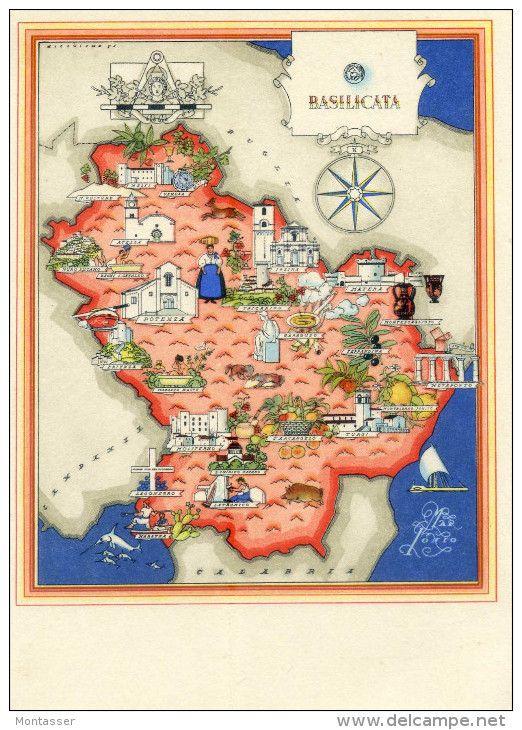 "Basilicata Italia Viva (1941) autore: Giovanni De Agostini editore: Societa Anonima Editrice ""Italgeo"" (Italia)"