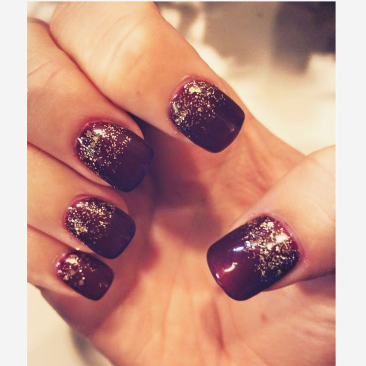 25 unique maroon nails ideas on pinterest maroon nails burgundy ombre gold and wine maroon nails perfect for the holidays nails prinsesfo Images