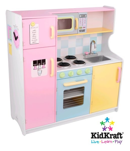 1000 images about wooden kitchens for children on for Toy kitchen table