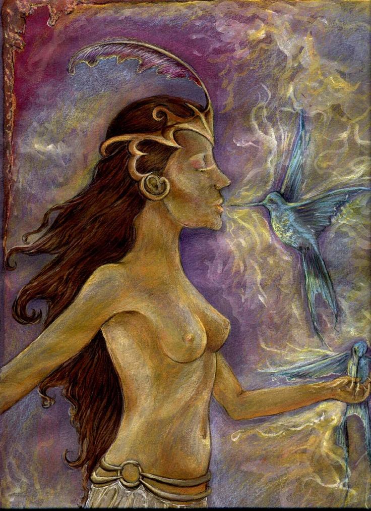 nectar ,acuarela 2000