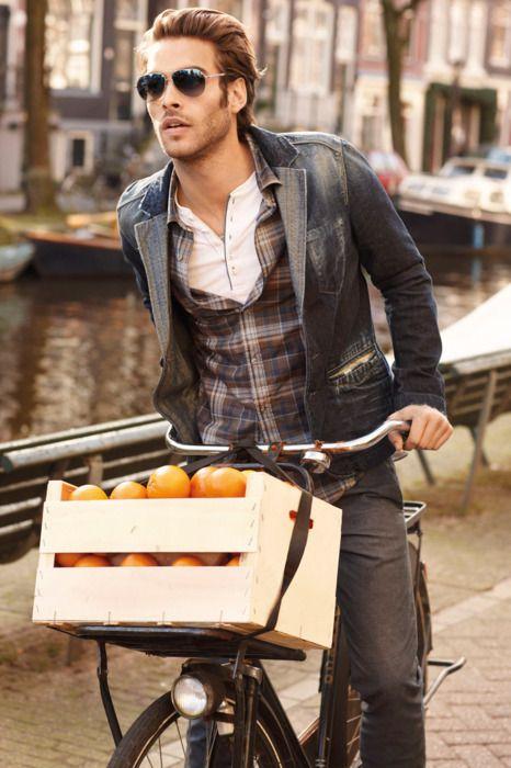 ,: Men Clothing, Jon Kortajarena, Menfashion, Jeans Jackets, Jonkortajarena, Men Style, Hugo Boss, Men Fashion, Bike Style