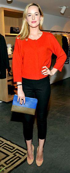 Dakota Johnson: Isabel Marant and Milla Jovovich BBQ Party