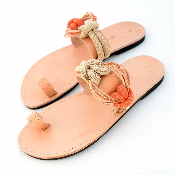 Handmade leather sandals SS14! www.littlestore.gr/en