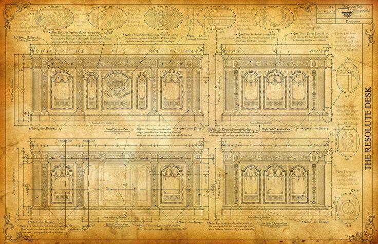the resolute desk blueprint