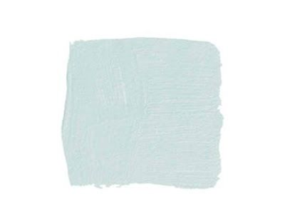"""Haint Blue by Sherwin Williams. If you're a true southerner you may already be familiar with the tradition of painting a porch ceiling a """"Haint Blue."""" It is said that doing this keeps away evil spirits. It also is supposed to keep away annoying mosquitoes since they mistake it for the sky!"""