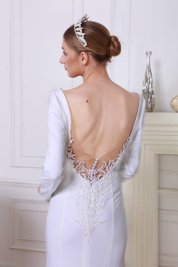 Kayla A Enzo Blanc S Timeless Collection Bridal Dress Vivienne