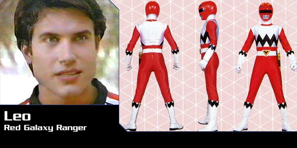 Leo Corbett (Red Galaxy Ranger) - Power Rangers Lost Galaxy | Power Rangers Central