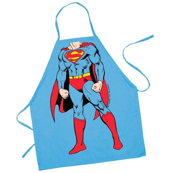 Dc Comics Superman Character Kids Apron By Icup Kid Size  - Batman Dawn  Bvsc