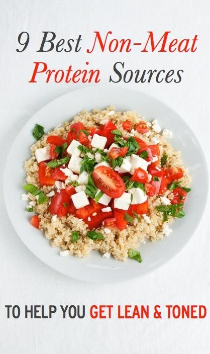 9 best sources of non-meat protein to help you get lean & toned (including Greek Yogurt!)