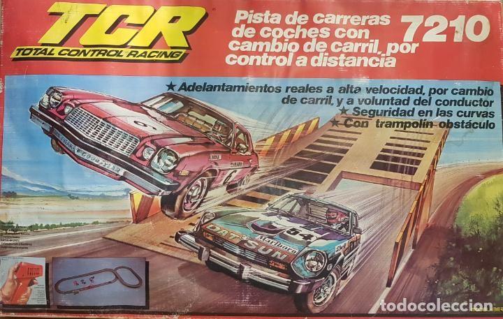 Tcr 7210 Racing Total 3 Control Pista Carreras Coches Con W9EDHI2