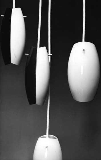 Pendant Light by Yki Nummi, 1956.