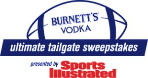 Heaven Hill Brands – Burnetts Vodka Ultimate Tailgate – Win a grand prize of $10,000 OR 1 of 45 Weekly prizes