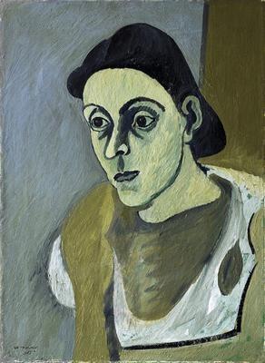 Arshile Gorky - Portrait of Vartoosh