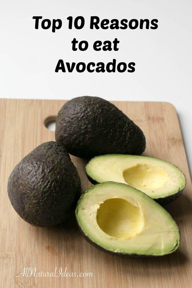 Reasons to Eat Avocados - Health Benefits   All Natural
