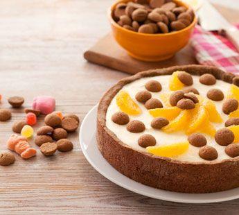 Kruidnotentaart met sinaasappelmousse - Recept - Jumbo Supermarkten