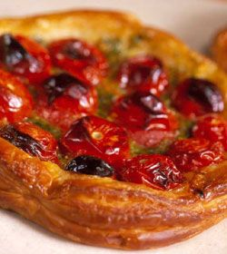 Tomato Tart from Julie Biuso. Photography by Ian Batchelor