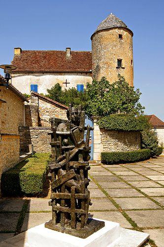 sculpture de Ossip Zadkine. Les Arques. Midi-Pyrénées