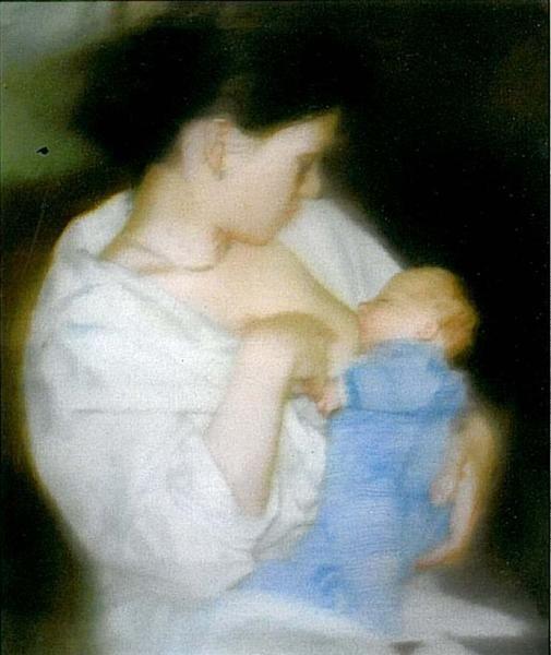 S con el Niño - Gerhard Richter. Nueva Pintura Europea