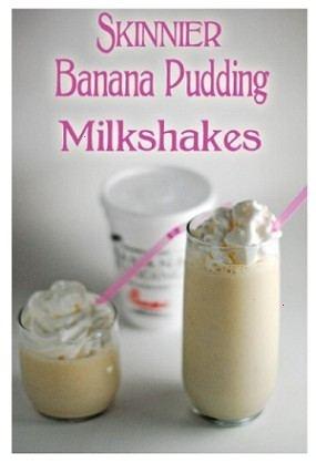 Banana pudding milkshake | food | Pinterest