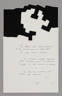 Eduardo Chillida, Placard Jabès, 1975