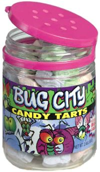 Bug City Candy-- After I finished eating the candy, I would clean it out and catch Lightning bugs