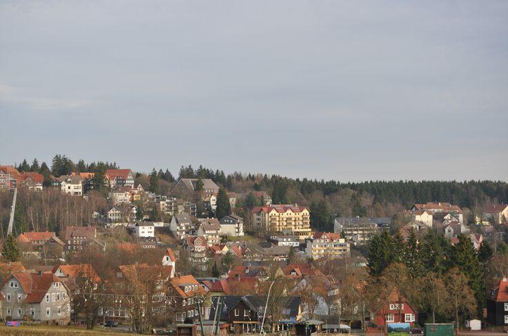 Blick auf #Braunlage im #Harz