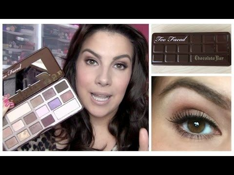 ▶ Too Faced Chocolate Bar Palette Review - YouTube
