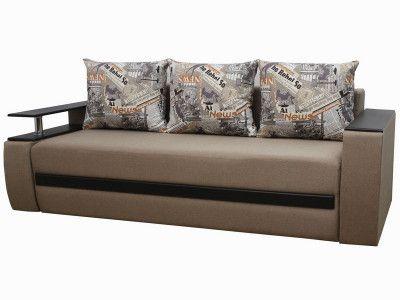 "Прямой диван Фабрика ""Киев"" Брайтон ткань 31 бар слева Бежевый"