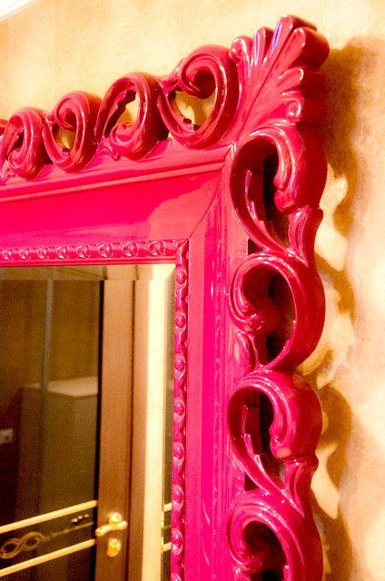 Ширина профиля рамы зеркала 225мм.