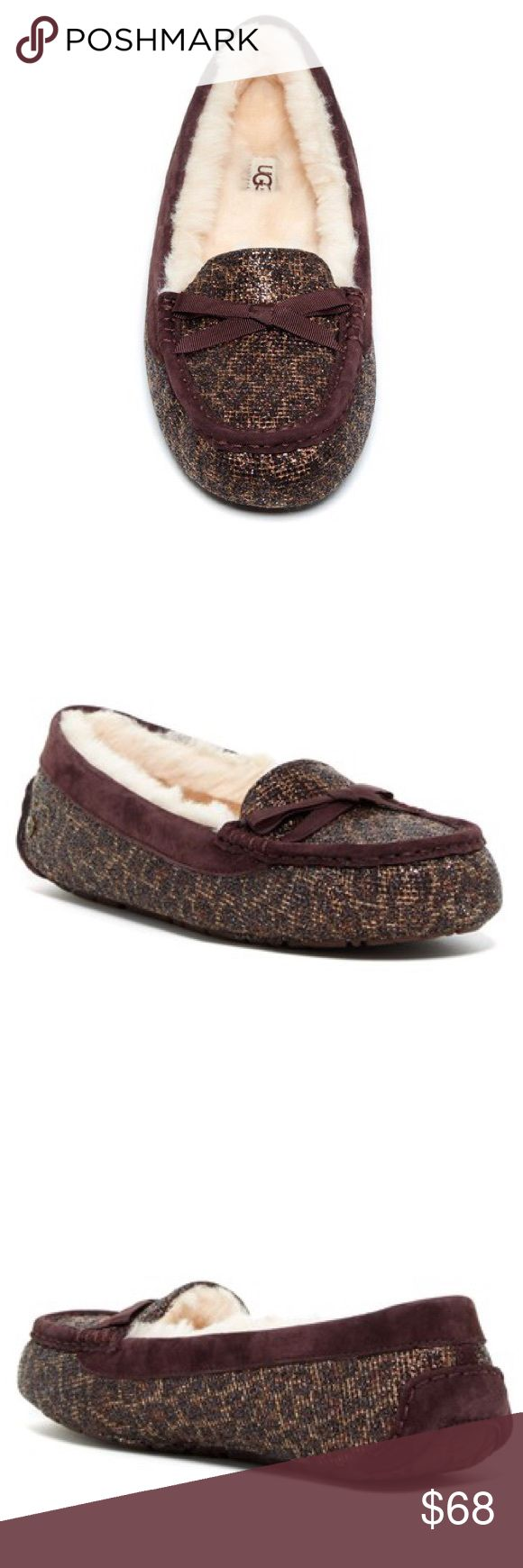New Ugg Australia Rylee Moccasins Ugg Australia Rylee Moccasins •New without box •Size 7 •Retails for $120  Check out my other listings- Nike, adidas, Michael Kors, Kate Spade, Miss Me, Coach, Wildfox, Victoria's Secret, PINK, Under Armour, True Religion, Ugg Australia, Free People and more! UGG Shoes Moccasins
