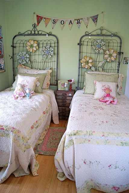 Diy Shabby Chic Headboard Ideas For S Rooms Design Dazzle