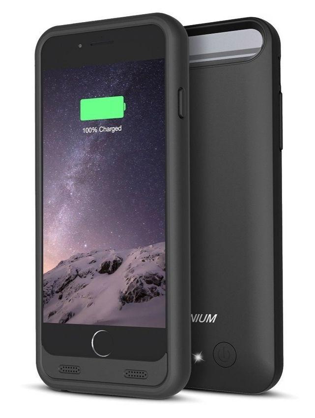 Trianium iPhone 6 battery case.