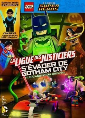 LEGO DC Comics Super Heroes: Justice League: Gotham City Breakout  Languages : English, french  Free download
