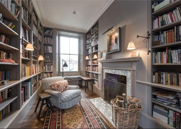Simple Library Room