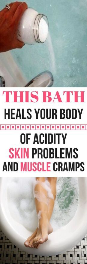 THIS BATH HEALS YOUR BODY OF ACIDITY, SKIN PROBLEMS, ARTHRITIC JOINT PAIN AND MUSCLE CRAMPS