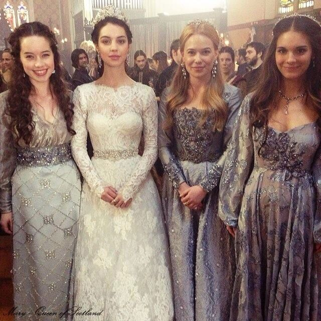 Mary and her ladies, the royal wedding #reign