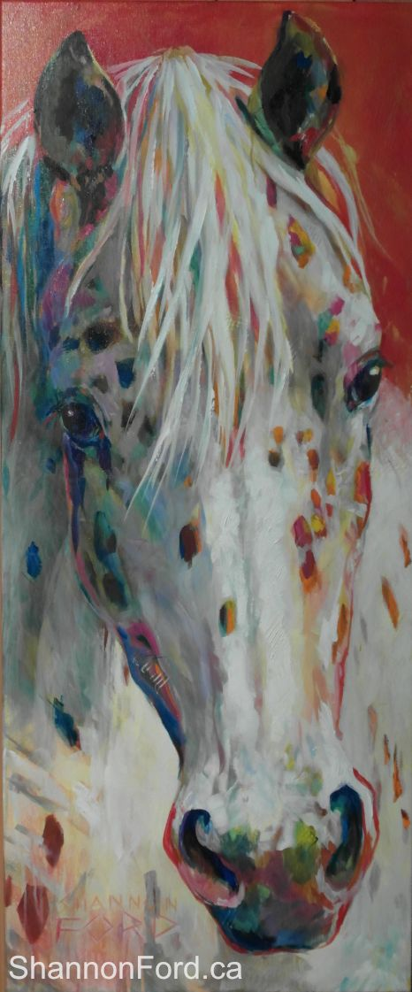 #Art #Animals - #Horse - Shannon Ford Fine Art http://www.ablankcanvas.net