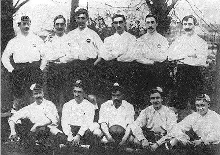 La Copa de España de 1902. Campeón: Vizcaya Bilbao.