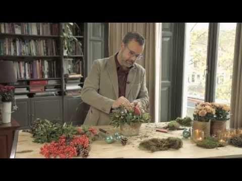 Zelfmaken: Origineel kerststuk Creatief, Filmpjes, Kerst, Zelfmaken - Margriet