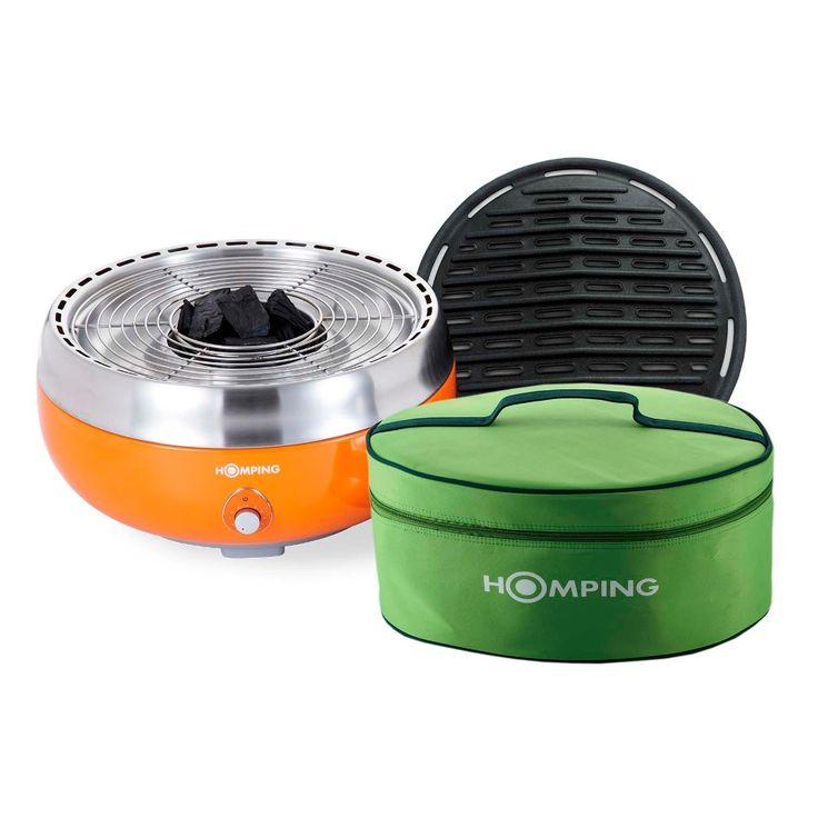 Churrasqueira Portátil Homping Smart - GS-HOM1LR - Doural