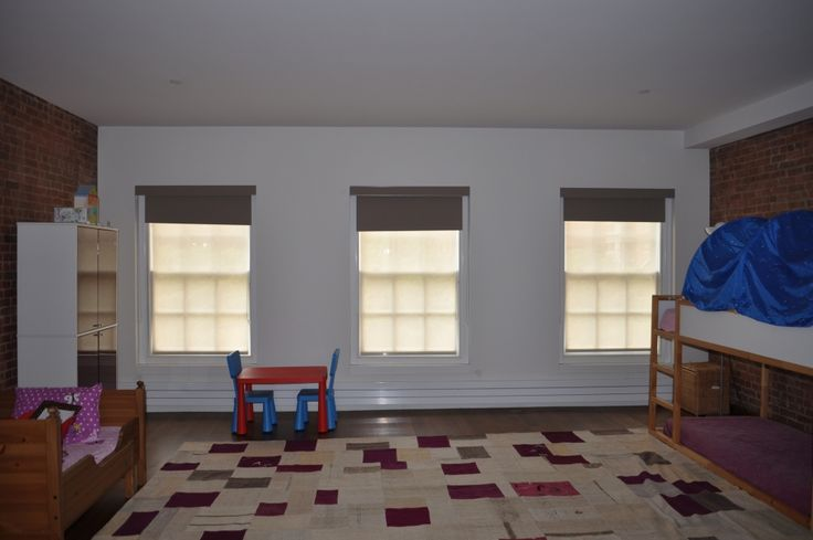 dual-layered shades consisting of blackout over solar shades  NY City Blinds