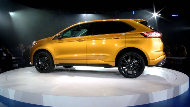 The all-new #Ford #Edge has finally been revealed and it looks even fiercer than we first imagined it would.