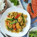 Crab Curry Stir Fry | Bu Pad Pong Karee | ปูผัดผงกะหรี่ - Rachel Cooks Thai
