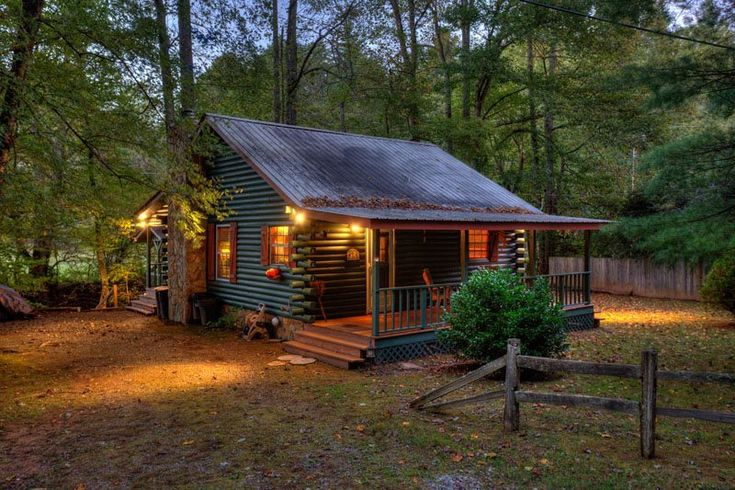 Blue sky cabin rentals creekside reflections in 2020