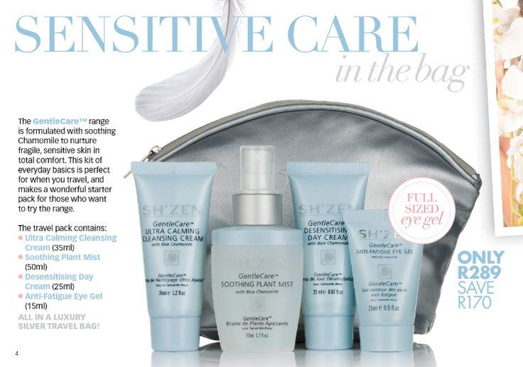 Sensitive care in a bag