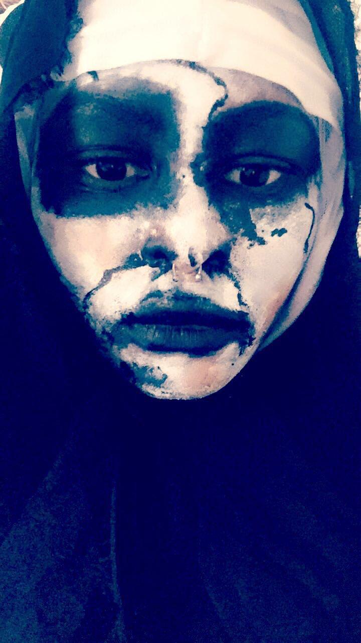 Watch how I achieved Conjuring Nun Halloween Idea